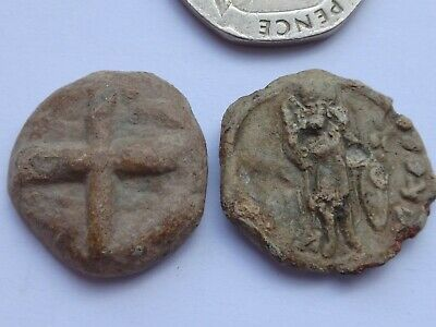 Lot of Two Byzantine Lead  Seals.      46
