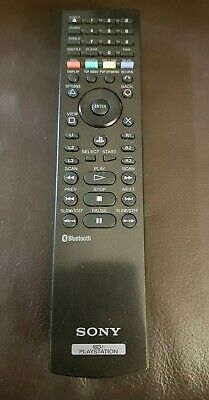 Official Sony Playstation BD Blu Ray Dvd Tv Remote bluetooth
