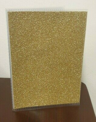 K & Company - Glitter Photo Album 4x6 'GOLD'