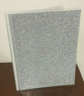 K & Company - Glitter Photo Album 4x6 'SILVER'