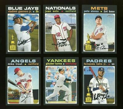 2020 Topps HERITAGE HIGH NUMBER SHORT PRINT **YOU PICK**