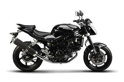 Brand New Hyosung Gt650 P Black On An 18 Plate