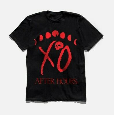 The Weeknd After Hours Xo Logo Moon Phase T-Shirt