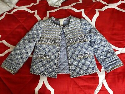 Girls Monsoon Sequin Quilted Jacket Age 3/4