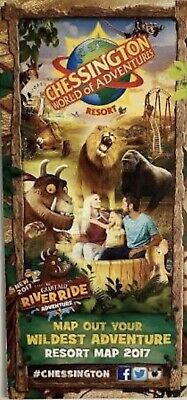 4 Chessington Tickets Friday 15th May  2020 FAST DELIVERY