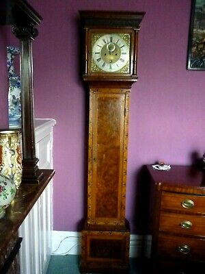 Henry Massey London Walnut Marquetry Longcase 8 day clock  London Circa. 1710