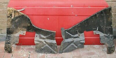 Genuine Triumph Herald Pair of Front Inner Wing Splash Panels - Hard to Find