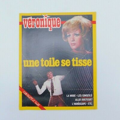 "Magazine ""Véronique"" n°28 de 1969 ♦ Salomé ♦ Catherine Deneuve ♦ Vintage"
