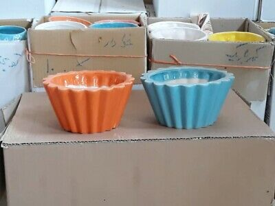 Import Ceramic Pottery- Circular-Lining- 2 Colours- Code: L016