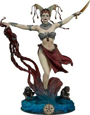 "COURT OF THE DEAD - Gethsemoni: The Queen's Conjuring 10"" Statue (Sideshow) #NEW"