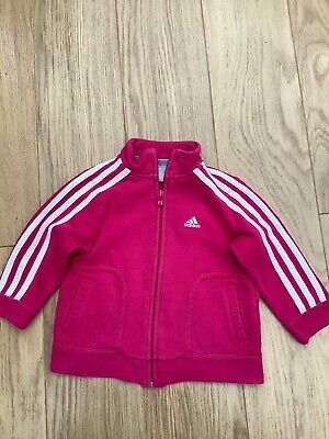 girls adidas tracksuit top Age 1/2years