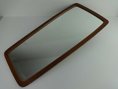 Mid Century Modern Mirror 548 Teak Special Denmark Danish Rectangle Design 75cm