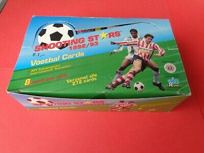 Box Da 30 Bustine Di Figurine Cards Voetbal Shooting Stars 1992/93