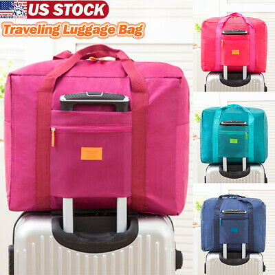 Camping Luggage Storage Bags Travel Carry-On Duffle Portable Foldable Baggage