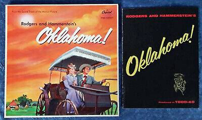 Oklahoma - Lp Soundtrack - Capitol Lp Sao 595 (Maroon Label)  + Movie Booklet