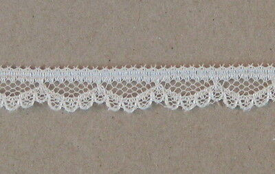 "CRAFT-SEWING-LACE""1/2 Price Special""40mtrs x 9mm Scallop Lace (Asst Colour Var.)"