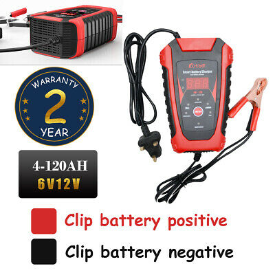 Intelligent 6V 12V Motorcycle Motorbike Battery Charger Automatic Smart Trickle
