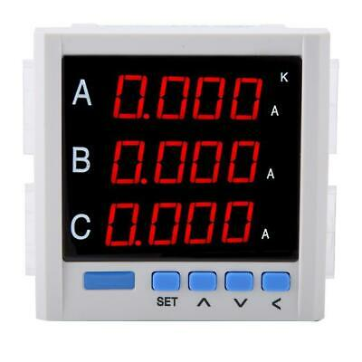 Multifunctional Digital Three-phase Ammeter Voltage Current Pragrammable Tester
