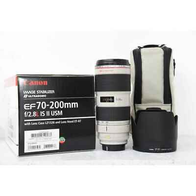 Canon Used Ef 70-200 f2.8 L Is II USM