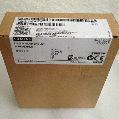 New In Box Siemens 6ES7 317-2AK14-0AB0 6ES7317-2AK14-0AB0 SIMATIC S7-300 CPU