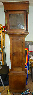 Grandfather clock - long case - in need of attention .