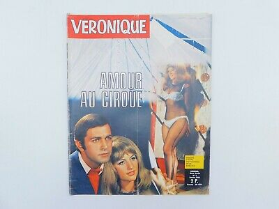 "Magazine ""Véronique"" n°1 de 1968 ♦ Kirk Douglas ♦Annie Girardot♦Richard Anthony"