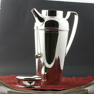 Tiffany & Co Cocktail Shaker Pitcher Sterling Silver 21357 3197 4 Pints Barware