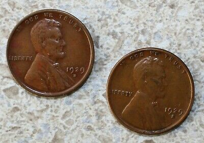 #4 Extremely Fine Low Mintage 1929 S Lincoln Wheat Cent