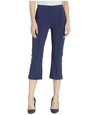 MICHAEL Michael Kors Women's Pants Navy Blue Size 6 Pull-On Stretch $74 #297