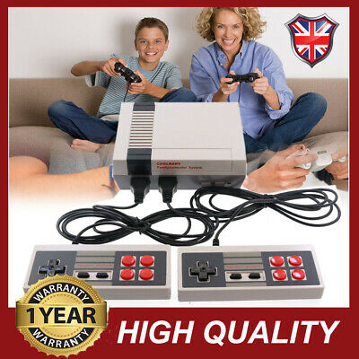 Mini TV Game Console For NES Built-in Games &2 Gamepads HDMI/AV Classic Retro UK