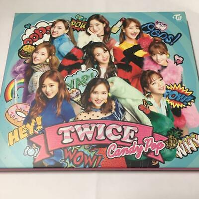 TWICE Limited Edition Official Candy Pop First Type A CD DVD Card Japan Mint
