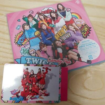 TWICE Candy Pop Limited Edition First Type B CD DVD Card WPZL-31405 Japan