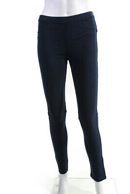 Sanctuary Womens Pull On Skinny Leg Jean Leggings Navy Blue Size Medium