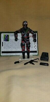 G I JOE File Card Filecard        2005 Firefly V13