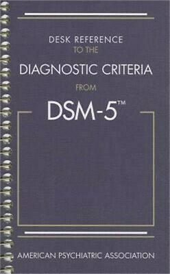Desk Reference to the Diagnostic Criteria from Dsm-5(r) (Spiral Bound, Comb or C