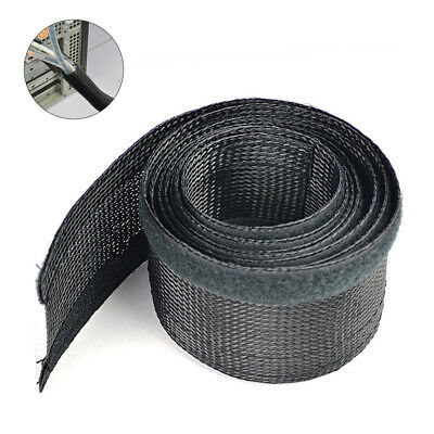 Cable Management Organizer Nylon Cable Cord Wire Cover Hider Sleeves 2m