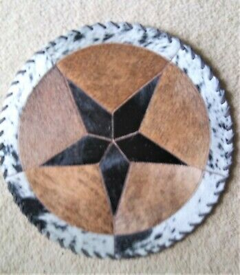 Hand Laced Cowhide 14x18 Placemat