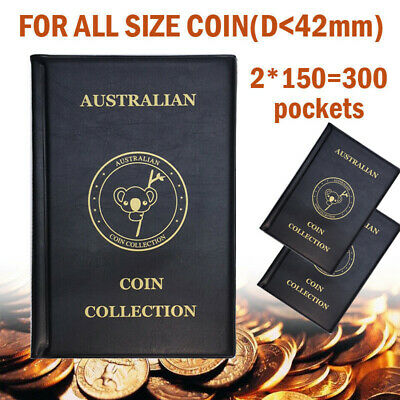 2x 150 slots AUSTRALIAN 50c COIN ALBUM for 50c 50 cent COLLECTION 1966 - 2019 AU