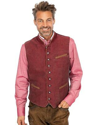 Maddox Vest Oliver Canvas Wine