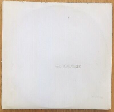 The Beatles: White Album Original Numbered Vintage Vinyl 1968 1st Press Complete