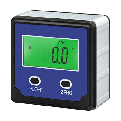 Digital Angle Gauge Level Finder Protractor Meter Bevel Box Inclinometer