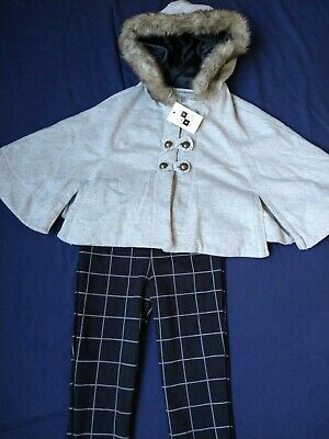 BNWT girls Max Studio outfit. Trousers & cape. 2-3 years.          ( 4/3)