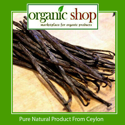 """20 Bourbon Vanilla beans/Pods Grade B - Extract Quality 3"""" inchers - Small beens"""