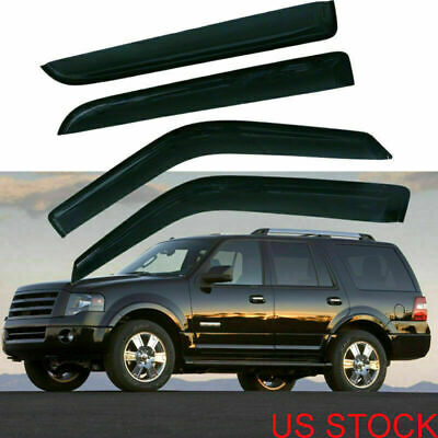 Luxury FX Roof Rack Trim for 2015-2017 Ford Expedition 4dr SUV Stainless 2pc