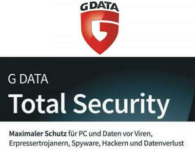 G Data Total Security 2019 2020|1Gerät|1Jahr|OEM|Lizenzaufkleber|Vollversion