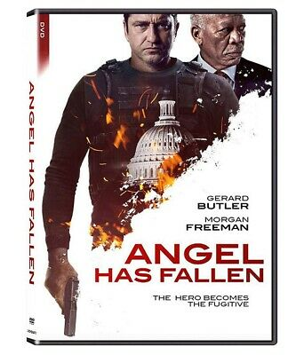 Angel Has Fallen (DVD, 2019) Gerard Butler  Free Shipping Included New & Sealed
