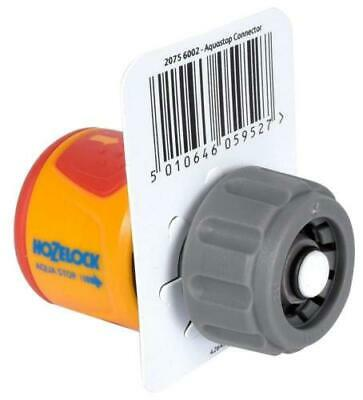 Hozelock Aquastop Standard Soft Touch Waterstop Connector 2075 Fast  Free Post