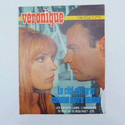 "Magazine ""Véronique"" n°34 de 1970 ♦ Marcel Zazini ♦ Annabel Buffet ♦"