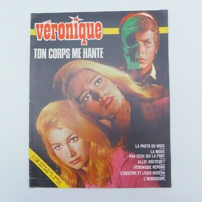 "Magazine ""Véronique"" n°35 de 1970 ♦ Louis Nucéra ♦ Danielle Licari ♦ Mode"