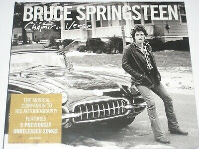 BRUCE SPRINGSTEEN chapter and verse digipak CD NEW/SEALED